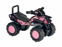 Pink Camo Ride-On ATV-- PUSH TOY !!! A reasonable