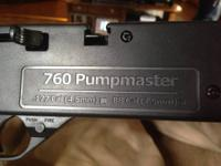 Crossman 760 Pumpmaster. BBs and .177 cal pellet. Comes