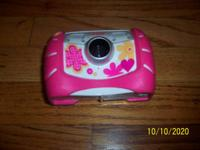 Pink Fisher Price Kid Tough Digital Camera -really