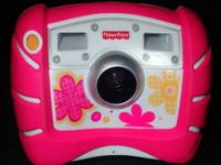 PINK Kid Tough Digital Camera by Fisher Price.
