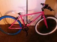 Type:BicycleType:Girls Pink fixie retrospec bought it