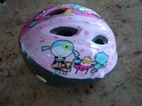 Below is an adorable infant helmet by Bell, it is pink
