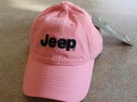 New Jeep Hat in PINK for all the ladies to show their