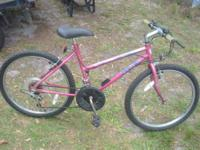 Huffy Wild Wave Bicycle Interesting mottled Pink color
