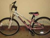 Like New Pink Ladies Schwinn Frontier Mountain Bike.