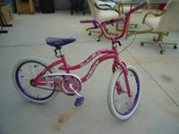 I have a pink Next Slumber Party women bicycle for sale