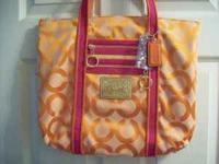 Original Brand New Coach Poppy Handbag E Orlando Goldenrod Rd