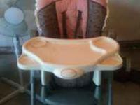 VERY NICE HIGHCHAIR FOR ONLY 35.00! PAID OVER 80.00