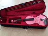 I have a really cute pink violin. Great for any lil