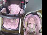 I have a pink and brown Graco travel system. I bought