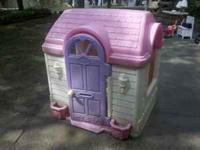 For Sale: Little girls playhouse in good condition.
