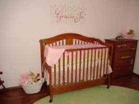 Baby Girl Crib Bedding Bought from WalMart - Name of