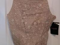 NWT - Pinky & Me Embroidered lace corset top. Fully