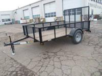 Stock 19342 Type Code UT Type Utility Trailer Year 2012