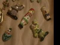 I have 20 ceramic pins there hand made there