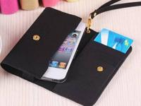 PinShow smart microfiber case wallet pouch for iphone