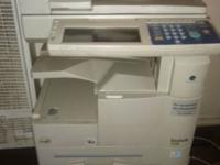 I have printer machine it turn on but i dont what is