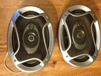 Nice speakers Pioneer in good condition.  (918)