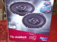 Two Sets of Two Speakers Available. $25.00. A Set. 350W