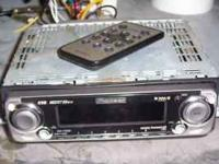 "Pioneer ""SuperTuner III D"" car stereo with remote. XM"