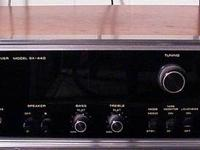This is an older stereo system; however, it still works