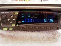 This is a Pioneer special fit Din 1/2 sized AM/FM/CD