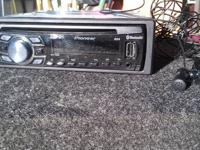 For sale is a pioneer radio receiver with remote and