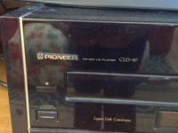 Pioneer laser disc player elite CLD-97 runs great.