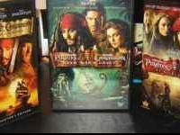 For sale is the DVD set of all three films of the