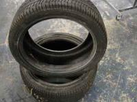 Two Tires Pirelli 255/40/18 7/32nds Tread Depth Call or