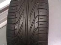 Pirelli P6000 235/45ZR 17 tire ....ZR Rated V Tread