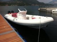Offered as an open with outboards. Easily recognizable