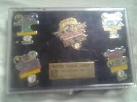 Pins are in excellent condition top of plastic case has