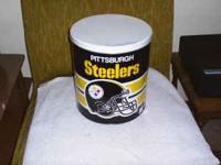 empty Pittsburgh Steelers Can asking $5.00 cash you