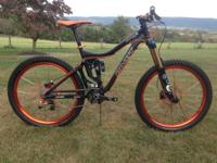 PIVOT CYCLES FIREBIRD ALL-MOUNTAIN BIKE, 167mm travel,