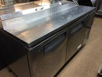 "FOR SALE - 67"" PIZZA PREP TABLE IN GREAT WORKING"