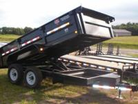 Click Here for Sparks Custom Trailers.  14' PJ Dump