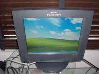 "Planar 15"" LCD Touch Screen Monitor. Model PT1503NT."