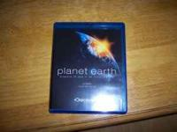 PLANET EARTH BLU RAY 4 DISC SET LIKE NEW ONLY WATCHED