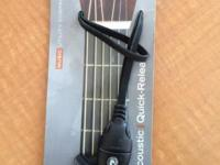 Planet Waves' Acoustic Quick-Release System lets you