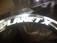 I've got a Planet X - Rear Wheel - Carbon Clincher for