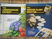 4 plant books for sale,Growing odd and curious house