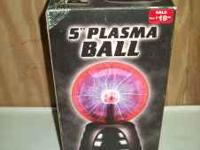 Plasma ball from the 1970's. New, never used and still