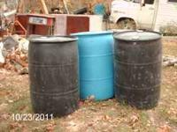 I have 4 - 55 Galllon plastic drums for sale. I want