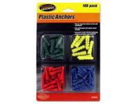 For indoor or outside use, anchors are made with
