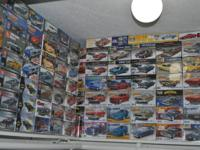Selling a design car kit collection of 242 vehicle &