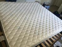 Platform Bed Kingsize 800$ with Matress I will give 1