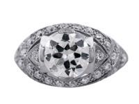 Style Main Diamond Transition Round Brilliant