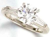 CONTACT US 1  WEBSITE AVAILABLEVS1/VVS 1 diamond ring