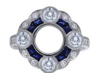 Style Setting Platinum Diamond Color G/H Diamond